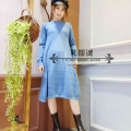 毛织连衣裙女装名品折扣店货源哪里有,广州明浩品牌折