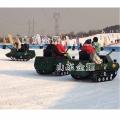 雪地坦克車 滑雪場游玩坦克戰車 雪地越野坦克車