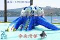 阳泉市水上乐园设备订制 章鱼滑梯设备建造