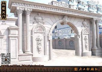 欧式石雕大门