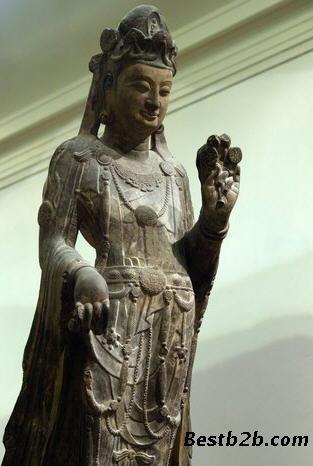 青岛市观世音铜坐像鉴定拍卖出手