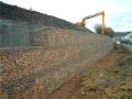 双绞合石笼挡墙生态结构特点