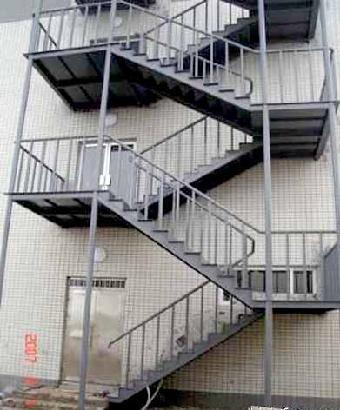 北京专业制作钢结构楼梯