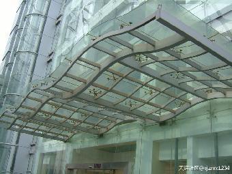 欧式玻璃雨蓬图片