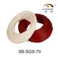 7.0KV硅樹脂玻璃纖維套管