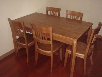 实木餐桌椅回收