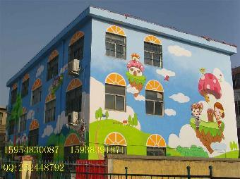幼儿园墙壁画海洋主题