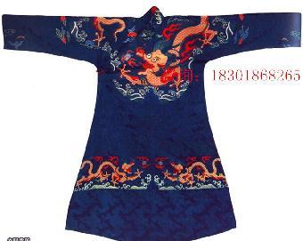 清代蟒袍的资料