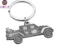 轎車形狀鑰匙扣定制 活動禮品鑰匙扣制作 金屬掛件定