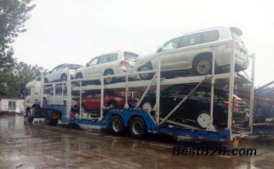 哈尔滨到广州托运一台小轿车多少钱