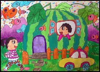 嘉定宝宝学画画 可笔教育少儿美术学校有创意值得信赖