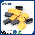 艾迈斯专利3芯接线端子MR60,大电流三孔连接器