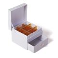 珠寶首飾盒專業廠家定制抽屜天地蓋首飾盒