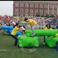 趣味運動會道具 人橋接力 充氣體育器材多人協作項目