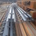 麗水市陸韻模數式橋梁伸縮縫焊接細節展示