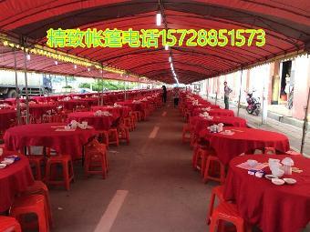 广州农村欧式婚礼酒席帐篷大型喜庆酒篷厂房推拉蓬