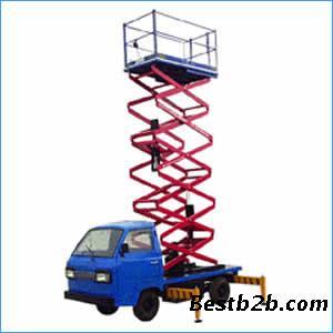 喀什车载式升降平台#固定式升降机#济南力硕机械