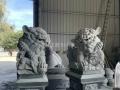 寺廟門前石獅子 花崗巖石雕獅子 石雕北京獅