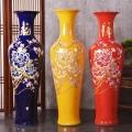 景德鎮手繪青花瓷落地大花瓶 1.6米工藝品裝飾擺件