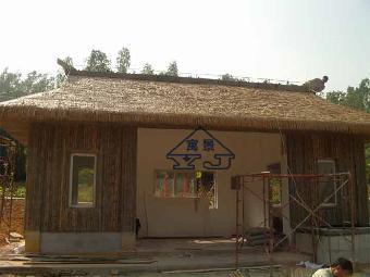 既摆脱了传统的茅草建筑物易燃特性