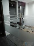 赵全营双开不锈钢玻璃门安装顺义区安装玻璃门厂家