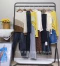 知性優雅品牌服飾伊袖長款風衣外套廣州石井批發市場