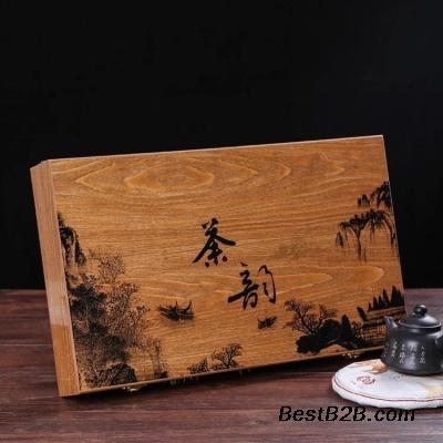 浙江红茶木盒包装,苍南茶叶木盒包装,平阳木盒包装