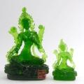 白度母绿度母佛像观音像琉璃工艺品定制
