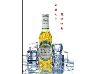 青岛美林小镇啤酒330ml夜场啤酒