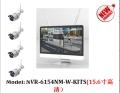 15寸高清無線 帶屏一體NVR 4 8路批量供應