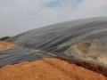 平頂山葉縣汝州養豬場黑膜沼氣池化糞池施工設計
