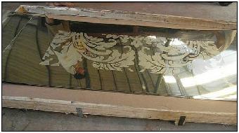 不銹鋼香檳金腐蝕板