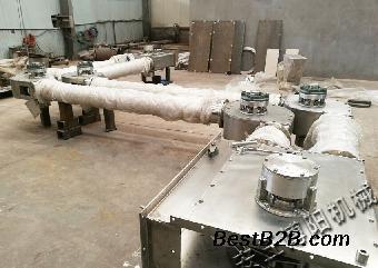 河南滑石粉大袋拆袋设备吨包卸料站运行稳定怎样视频v设备图片