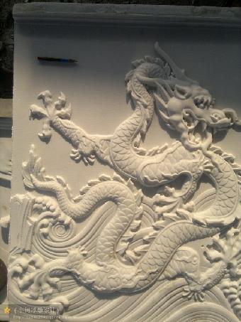 简约新中式圆雕