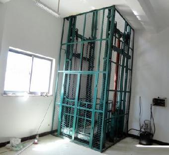 鑫顺导轨式液压升降平台