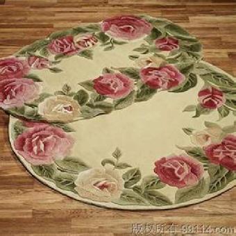 手工编织地毯厂家_唯尔雅地毯图