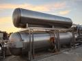 大量回收二手全不銹鋼雙層電加熱殺菌鍋