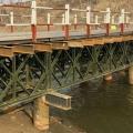 十堰盤扣腳手架鋼支撐工字鋼鋼棧橋貝雷片租賃