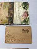 木质IC卡木纹卡屏蔽卡磁条卡环保卡
