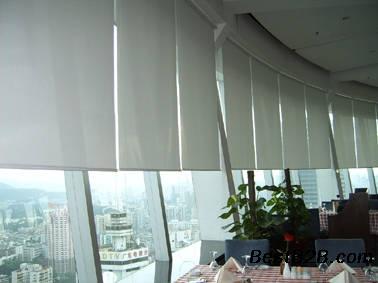 天津和平定做办公窗帘 遮阳窗帘 喷绘窗帘