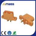 艾迈斯专利直流电源插头XT60E可固定在机箱上的直