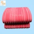 開槽紅膠PVC輸送帶定制