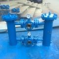 碳鋼快開吊環式雙聯切換過濾器 SQ-KSSL球型雙