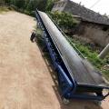 布匹海綿輸送機廠庫裝卸車皮帶機長度定做輸送機