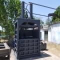 廢金屬壓塊機型號 廢鋁合金打包機立式160噸