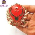 定制金属徽章 个性奖章设计 优雅商务正装胸章批发