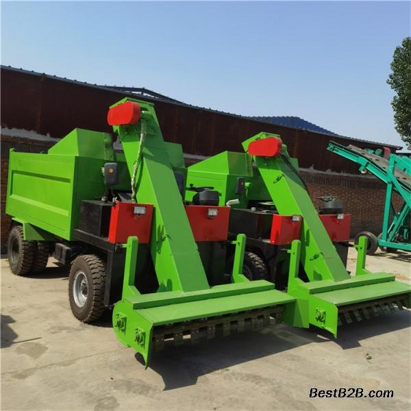 牛場大面積清糞車 自走式柴油清理車