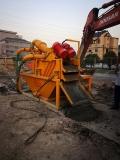 建筑泥漿干化處理的操作方法