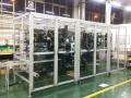 工业铝型材车间防护隔断安全隔离罩