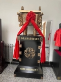 西安開業擺件銅鼎大花瓶工藝品